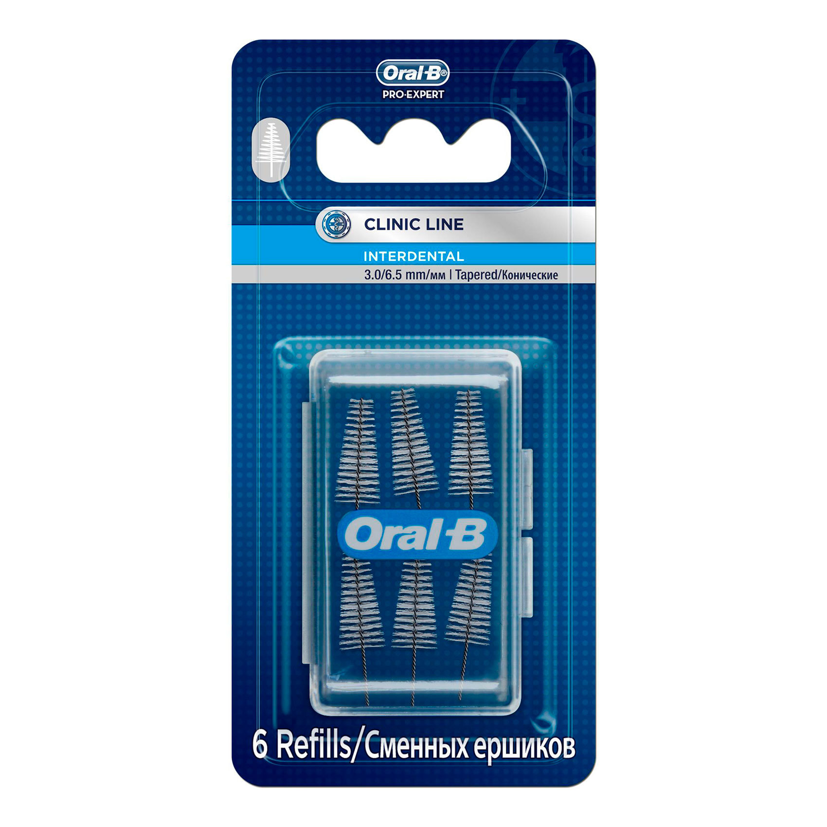 ORAL B INTERDENT REFILL TAPERD6'S