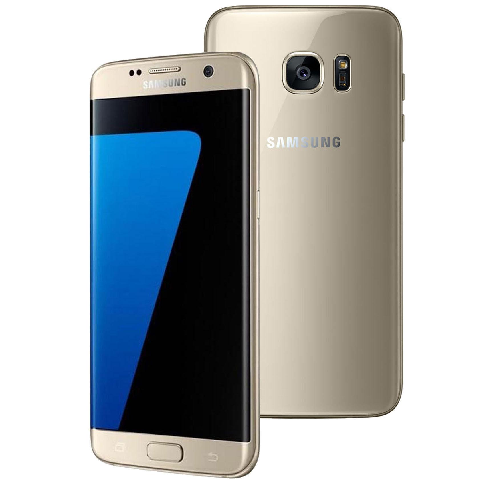 Buy Samsung Galaxy S7 Edge Dual Sim 4g 32gb Gold Online In Uae Lcd Touchscreen Original S7e Ds Dsf