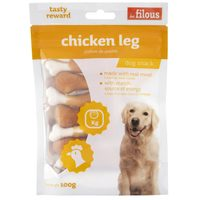 Les Filous Dog Snack Chicken Leg 100g