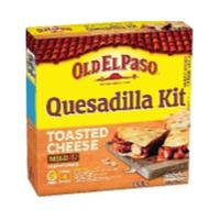 Old El Paso Quesadilla Kit Toasted Cheese Mild 505GR