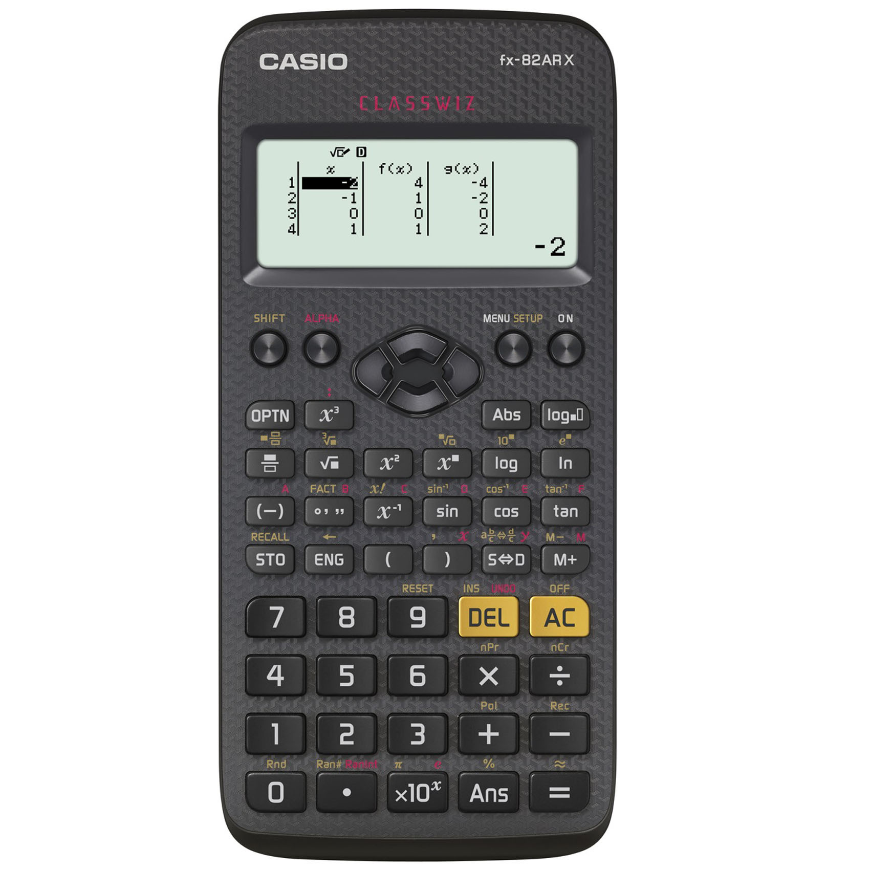 CASIO FX-82ARX SCIENTIFIC