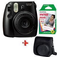 Fujifilm Instax Camera Mini8 Black + Film + Case Worth 93 AED