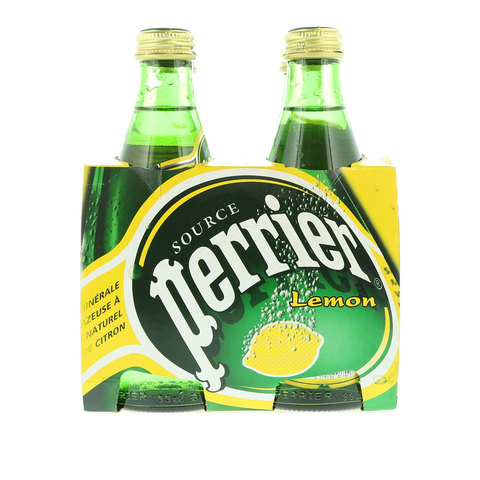 Perrier-Natural-Sparkling-Mineral-Water-Lemon-Glass-Bottle-4X330ml