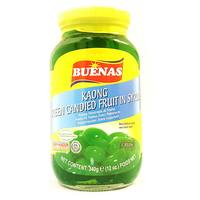 Buenas Kaong Green Candied Fruit in Syrup 340g