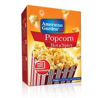 American Garden Hot n' Spicy Popcorn 273g