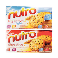 Nutro Digestive Biscuits Light Naturally Healthy 25% Less Vegetable Fat 225GR