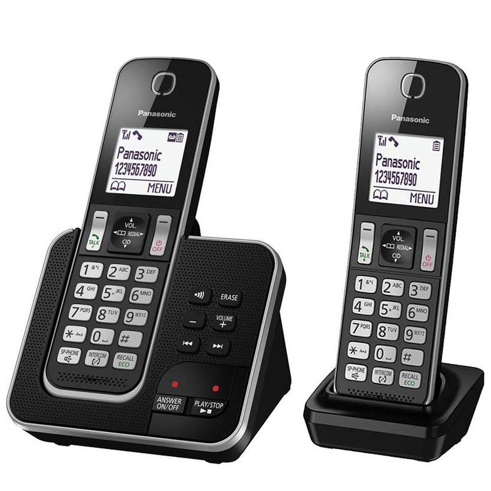 PANASONIC KX-TGD322UEB DECT PHON BK