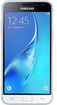Samsung Galaxy J3-2016 Dual SIM, 16GB, 1.5GB RAM, 3G - White