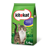 Kitekat™ Mackerel Flavour Dry Cat Food Adult 1.4kg