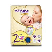 Canbebe Diapers Size 2 3-6KG 68 Sheets
