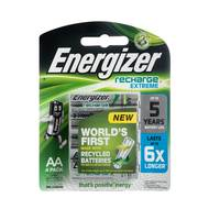 Energizer Extreme Recharge Battery AA NHI ERP4 4 Pack