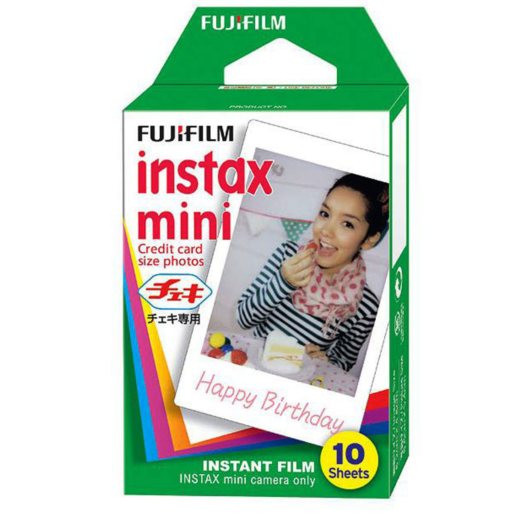 FUJIFILM-FILM INSTAX MINI 10 SHEET