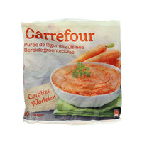 Carrefour Frozen Mashed Carrots 750g