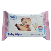 Cool & Cool Babywipes 64+8 Free