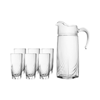 Luminarc Ascot Drinkware Set Of 7 Pieces