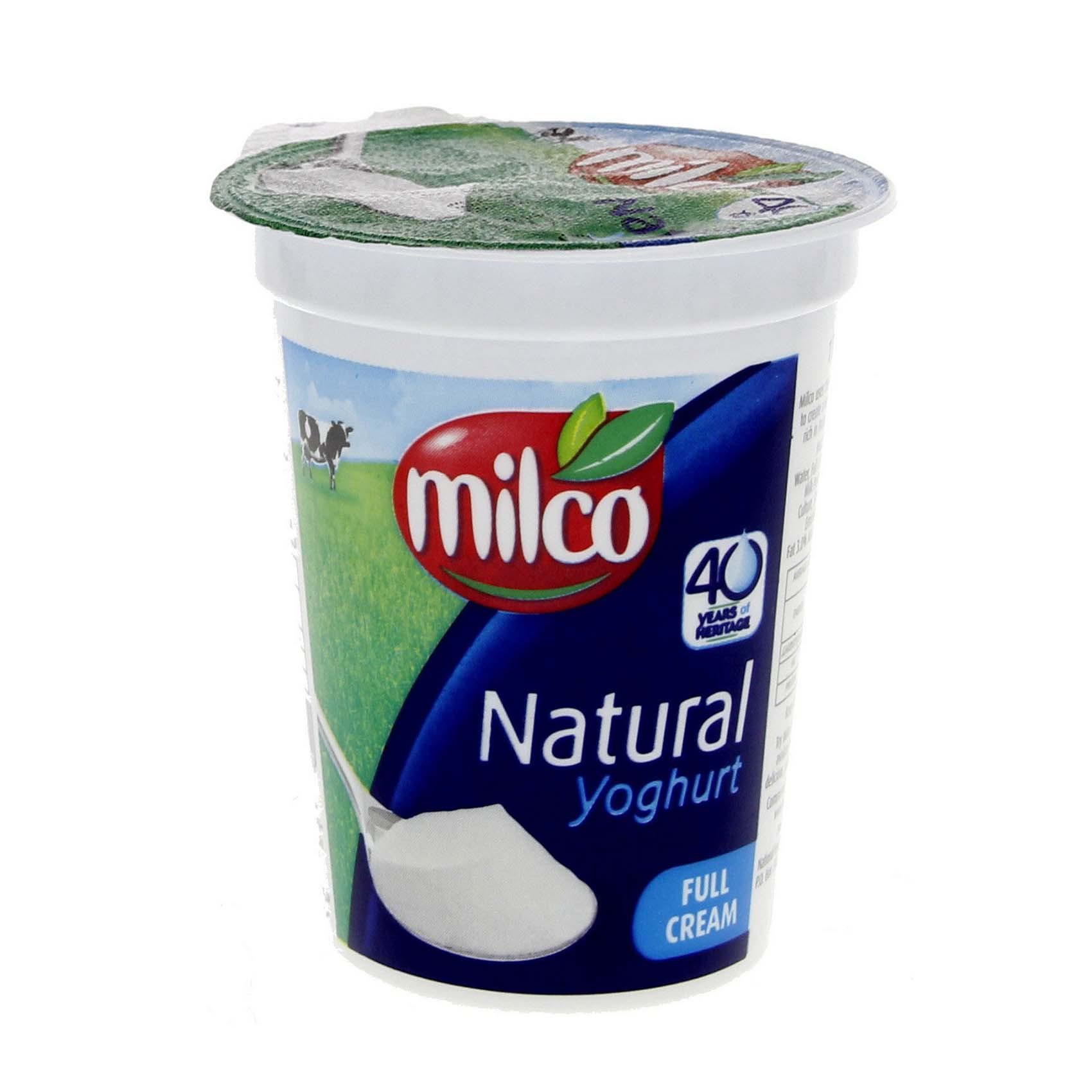 MILCO YOG PLAIN FF 400G