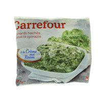 Carrefour Spinach With Cream 1Kg