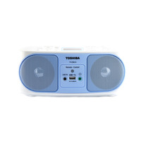 TOSHIBA Radio CD TY-CRU12 Blue