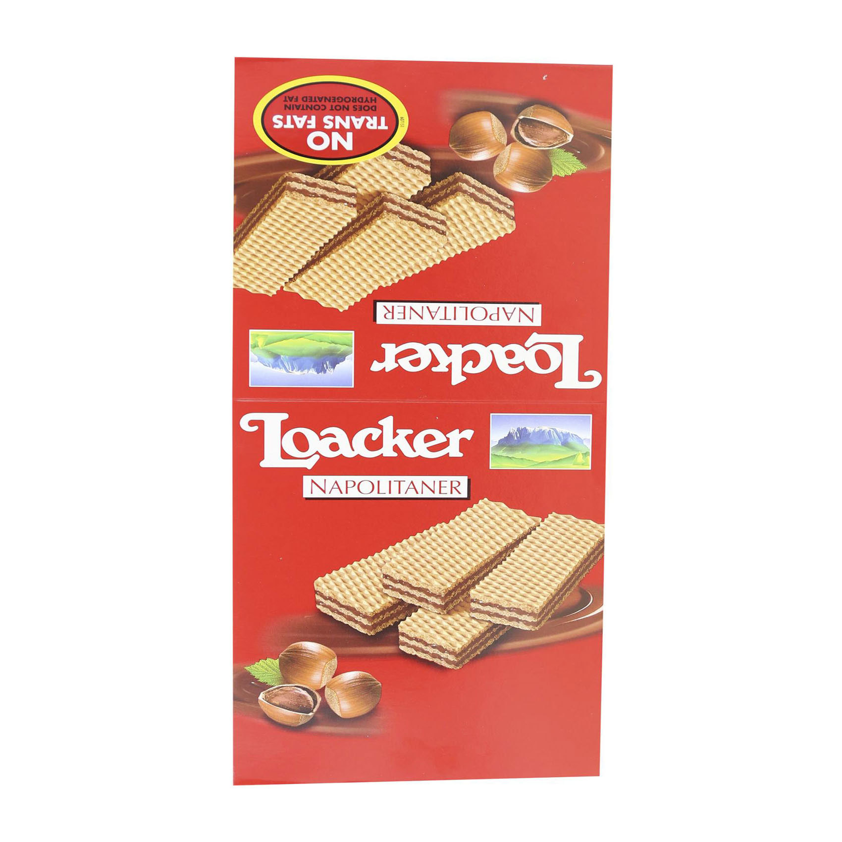 LOACKER NAPOLITANER WAFERS 45GRX25