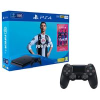 Sony PS4 1TB Console+FIFA 19+2 Wireless Controllers