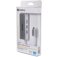 Sandberg USB-C to 3 x USB 3.0 Converter