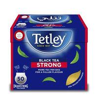 Tetley Black Tea Strong 50 Tea Bags