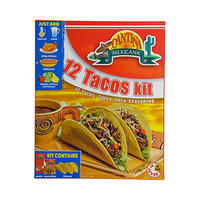 Cantina Mexicana Tacos Dinner Kit 300GR 12 Pieces