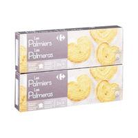 Carrefour Biscuits Palmier 100GR X2