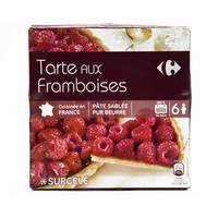 Carrefour Raspberry Tart 470 g
