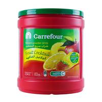 Carrefour Instant Powder Drink Fruit Cocktail 2.5 Kg