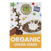 Organic Larder Organic Cereal Cocoa Stars 300g