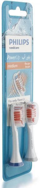 PHILIPS Electric Toothbrush Refil S-Care PowerUp White