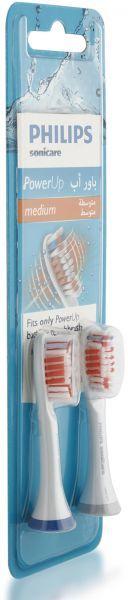 فرشاة أسنان كهربائية فيليبس ريفيل إس كير باورآب لون أبيض