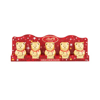 Lindt Excellence Teddy Mini Chocolate Perforated 10GR X5