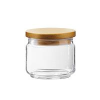 Luminarc Pot Mania 0.5L + Wooden Lid