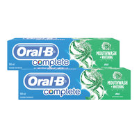 Oral-B Complete Mouthwash + Whitening Toothpaste 100 ml