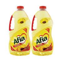 Afia Sunflower Oil 3.5L X 2 -20% Off