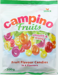 Storck Campino Fruits Flavour Candies 200g