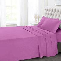 Tendance's Flat Sheet Double Rose Pink 205X240