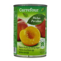Carrefour Peaches Fruit Halves In Syrup 425ml