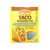 Old El Paso Taco Seasoning Mix 25% Less Sodium 28GR