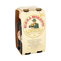 Bira Moretti Beer 4.6%V Alcohol 33CL X4