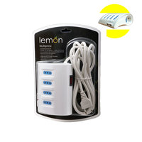 Lemon Power Bar 3 Meter With Two USB Ports