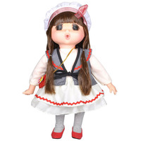 "Lotus - Gege Soft-Bodied Akiba Brunette Girl Doll 15"" White"