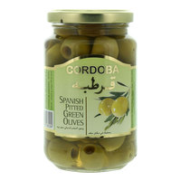 Cordoba Spanish Pitted Green Olives 340g