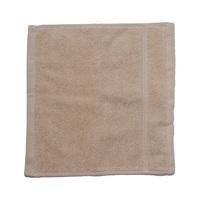 كنزي منشفة للوجه قياس 30x30 سم لون بيج