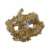 Christmas Tinsel Garland 5 Cm Gold