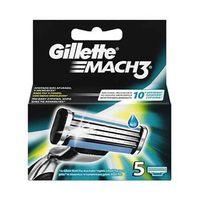 Gillette Mach 3 Razor Blades Refill Pack Of 5