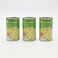 Carrefour mushrooms pieces & stems in brine 425 g x 3