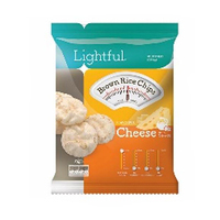 Lightful Brown Rice Chips Cheese 30GR